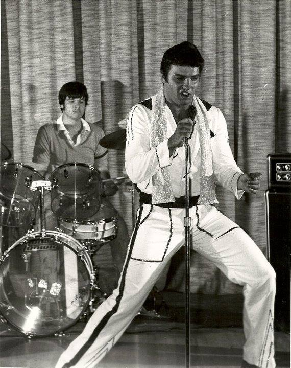 Mark Shelton at 17 years old performing as Elvis.   Photo Credit:  Don Whipple.