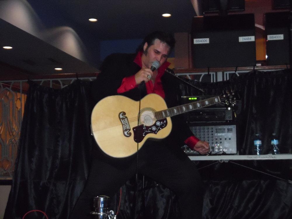 ETA  Anthony Von  during his performance at Flamboro Downs, Friday, April 13th, 2018.  Photo Credit: C.M.