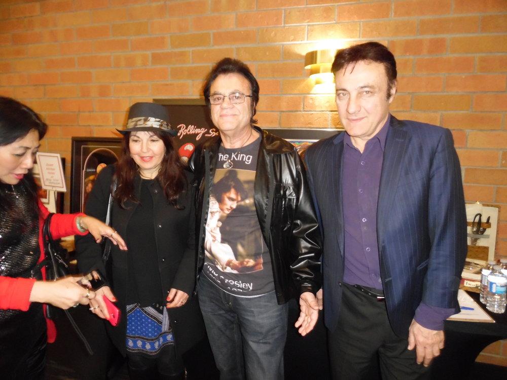 ETA  Nick Policelli , far right, with his friends at ETA  Thane Dunn 's show, April 28th, 2018.