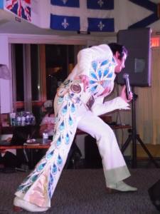 ETA  Matt Cage  performing at the Fort Erie Legion.  Photo Credit: C.M.
