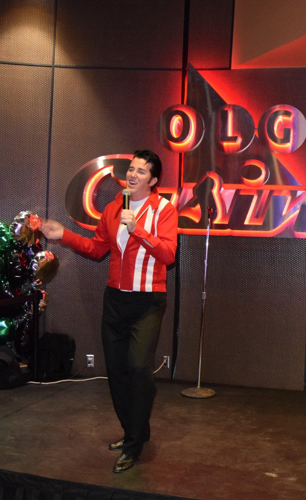 ETA  Matt Cage  at Brantford Casino.  Photo Credit: Amber Maich.