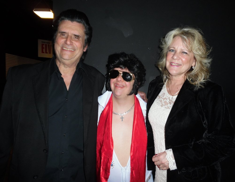 Pam and Jim Yorfido, shown here with Jim's nephew, Anthony, will be appearing at Elements Casino (formerly Flamboro Downs) on Friday, May 18th, 2018 from 9 am to 1 pm. Jim is an excellent Johnny Cash tribute artist, and along with his lovely wife, Pam, who sings June Carter and Tammy Wynette songs, provides a great evening of entertainment.  Photo Credit: C.M.