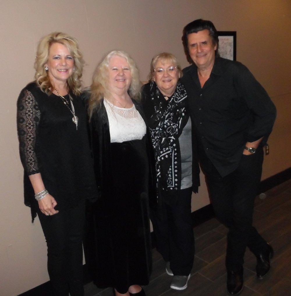 Pam Yorifido, Dot Farr, Carolyn MacArthur, Jim Yorifido.  Photo Credit: C.M.