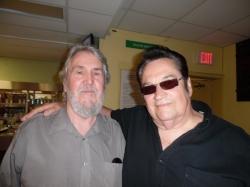 Tribute Artist Ron Provo and ETA Wayne Zess.  Photo Credit: C.M.