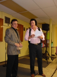ETA Nick Policelli and Tribute Artist Doug McKenzie.  Photo Credit: C.M.