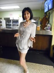 Entertainer Ella Farida.  Photo Credit: C.M.