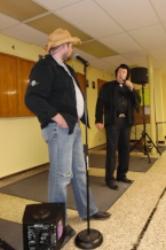 Tribute Artists Brian and Doug McKenzie.  Photo Credit: C.M.