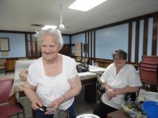 Great volunteers at the RHLI.  Photo Credit: C.M.