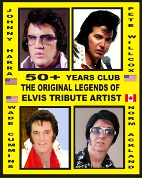 The 50+ Club's Original Legends: ETAs Johnny Harra 1959, Pete Wilcox 1963, Wade Cummins 1964, and Norm Ackland 1968.