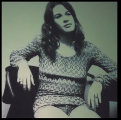 A photo of John Rowland's photograph of Carole King.