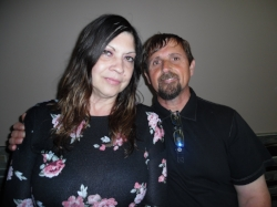 Marie, pictured with her husband, celebrated her birthday at Elements/Flamboro.   Photo Credit:  Carolyn MacArthur.
