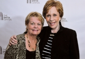 Cynthia Pepper and Carol Burnett.  Photo Credit:  sharp@gmgvegas.com.