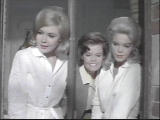 Cynthia Pepper (centre) with Sandra Dee and Jenny Maxwell - Take Her, She's Mine.