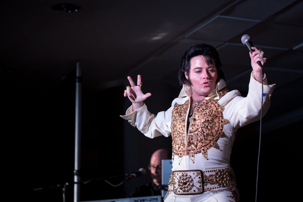 Anthony Joseph performing at the Flaming Star Elvis Festival, 2017.  Photo Credit: Lori-AnneCrewe, LA Crew Photography.