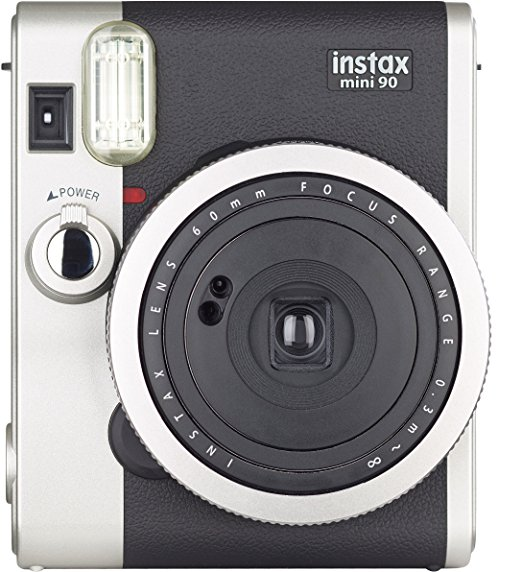 Fujifilm Instax Mini 90 - Neo Classic Instant Film Camera, Brown