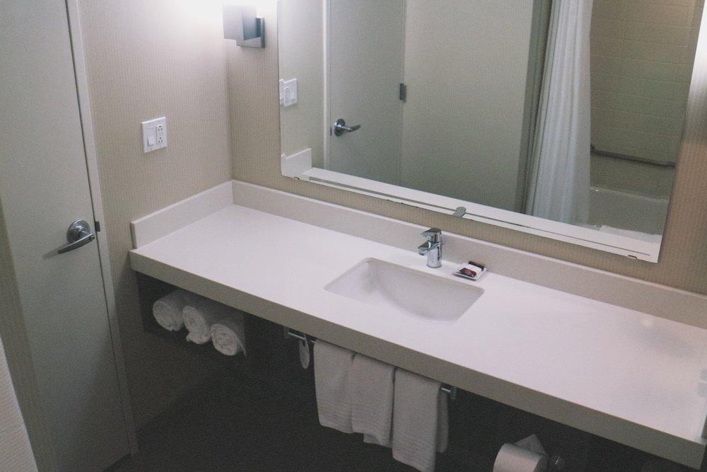 hotel delta marriott fredericton bathroom