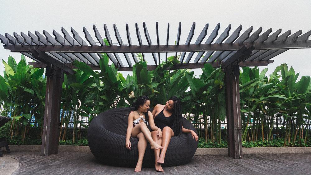 Amari Bangkok Hotel Elaisha Jade Desiree Thomas