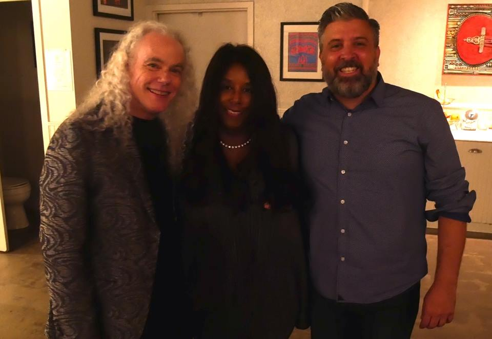 Sam with Tuck & Patti after show at Space in Evanston