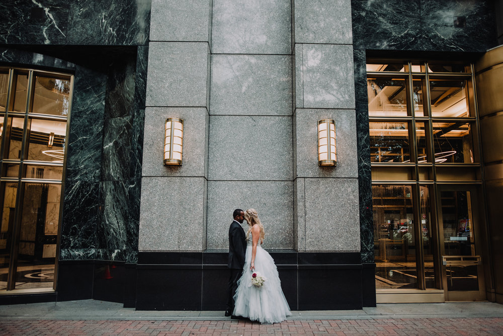 Shelton & Beth - such a dreamy uptown CLT wedding! We love the country vibe, but this city wedding killed it too!