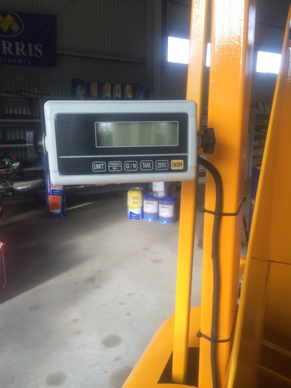 Digital scale monitor
