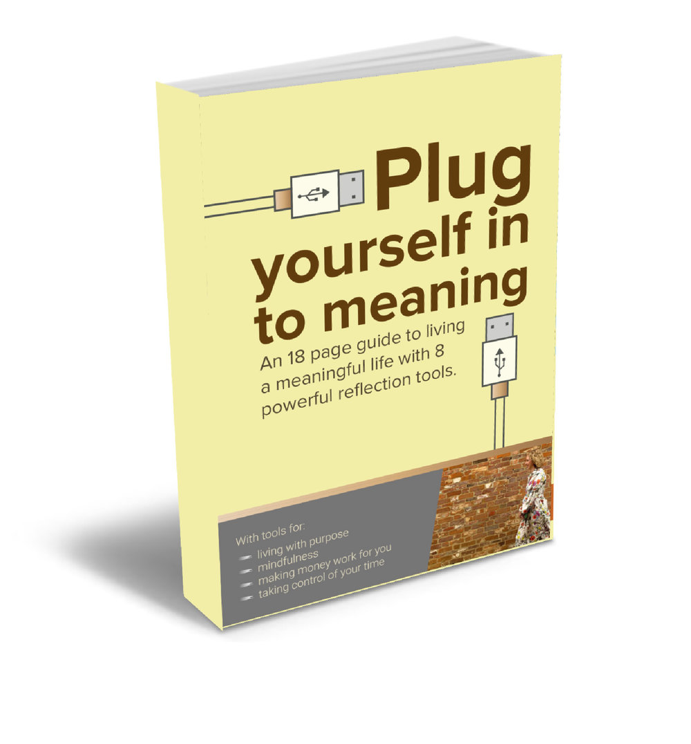 Download my ebook   - Grab your copy here. There are 8 tools inside that you can start using straight away that will improve your awareness and develop insight.