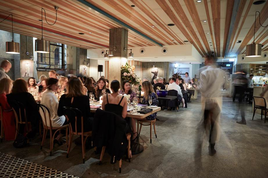 Award winning Sydney restaurant No.1 Bent Street