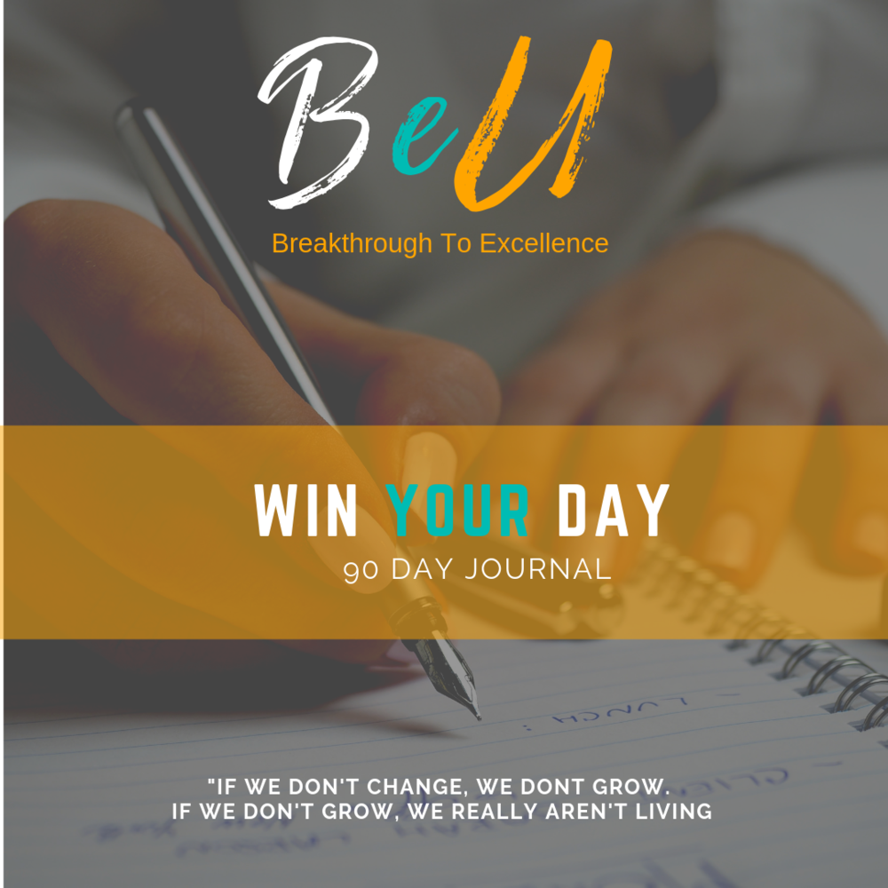 BeU Win Your Day 90 Day Journal
