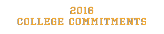 2016 College Commitments