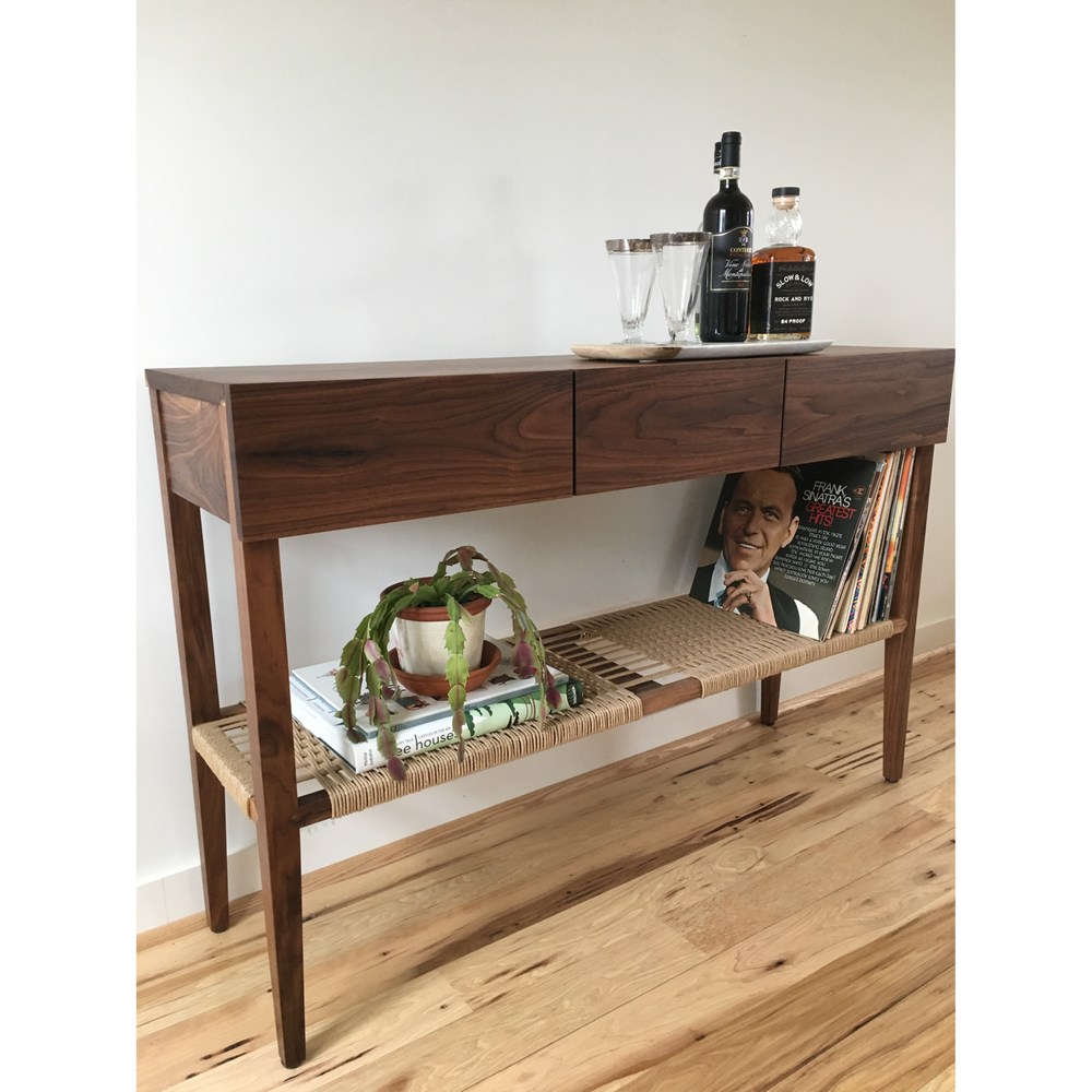 blass record player console