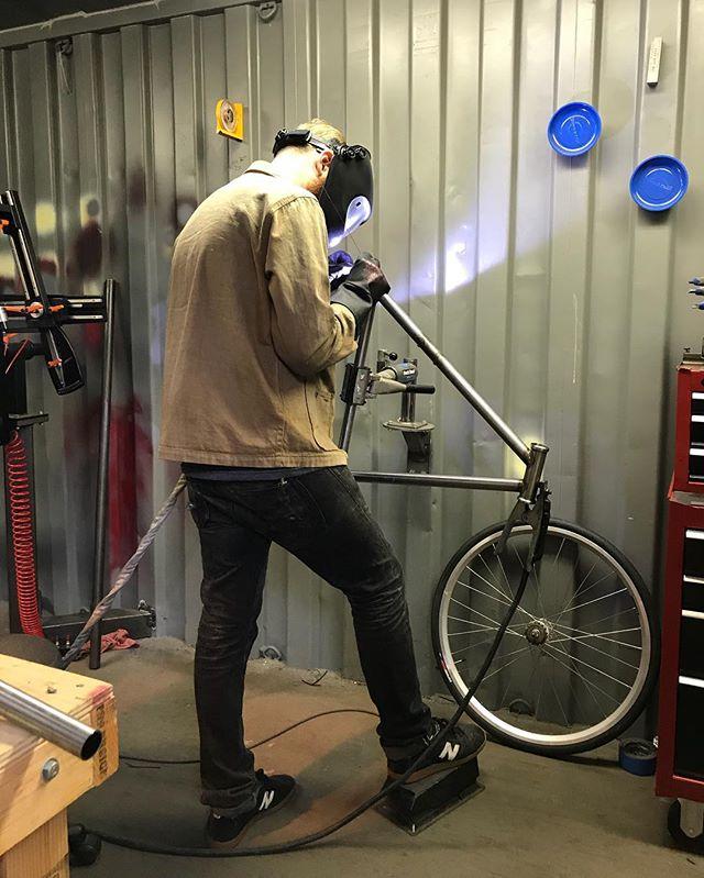 #handmade by #jeromecycles #ffsr #fixedgear