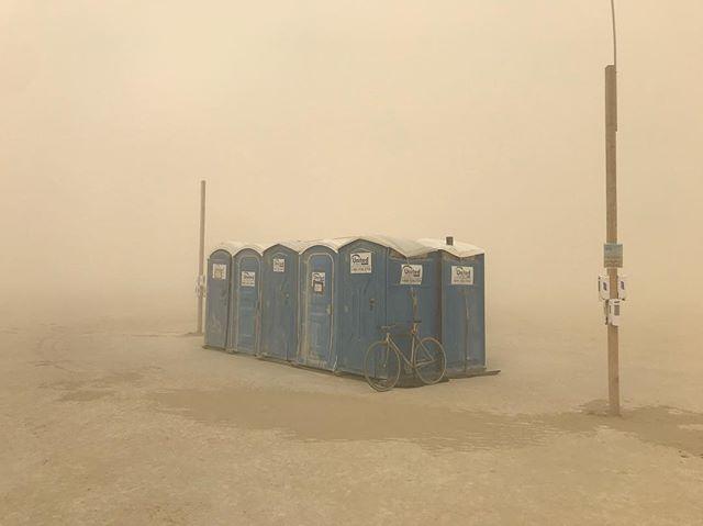 #duststorm at #burningman2018 #industwetrust #nofilter
