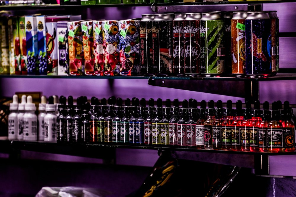 Premium E-Juice - Charlies Vape, Cosmic Fog, Cuttwood, Soda Drips, Space Jams, Prophet