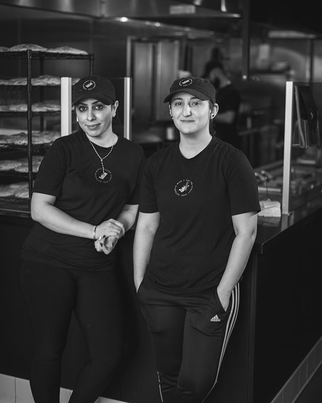 The Queens of Tahini... Over the next few weeks/months we want to introduce to you all the special individuals behind your amazing food who don't often get the recognition they deserve. So a special shoutout to Dalya and Hiba for getting things started! #eattahini #eatsandiego