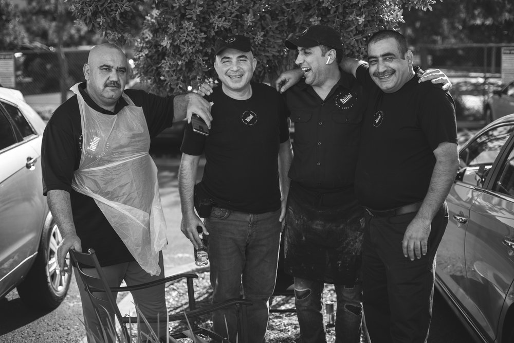 RESPECTING OUR ROOTS - We've made a commitment to hire from our Middle Eastern refugee community, individuals who have mastered the art of Street Food with skills passed down to them over generations.