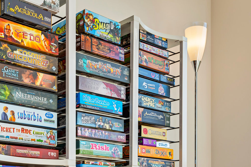 Treat your games royally - Don't settle for bookshelves. It's time to take a stand with your own custom, modular board game shelves.Make way for the BoxThrone.