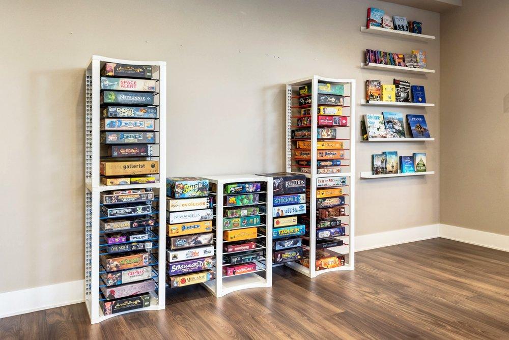 Ordinaire BoxThrone Board Game Shelves