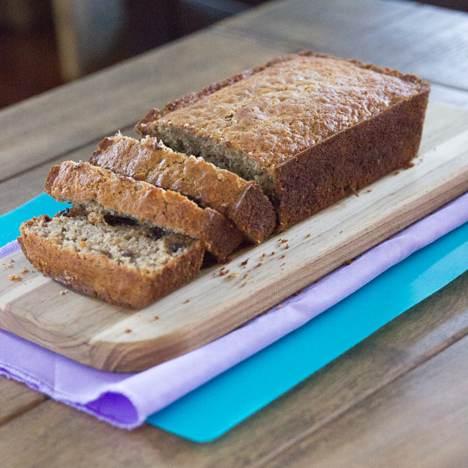 Cheers years blog posts cheers years the best gluten free banana bread with chocolate chips recipe more moist fluffy forumfinder Choice Image