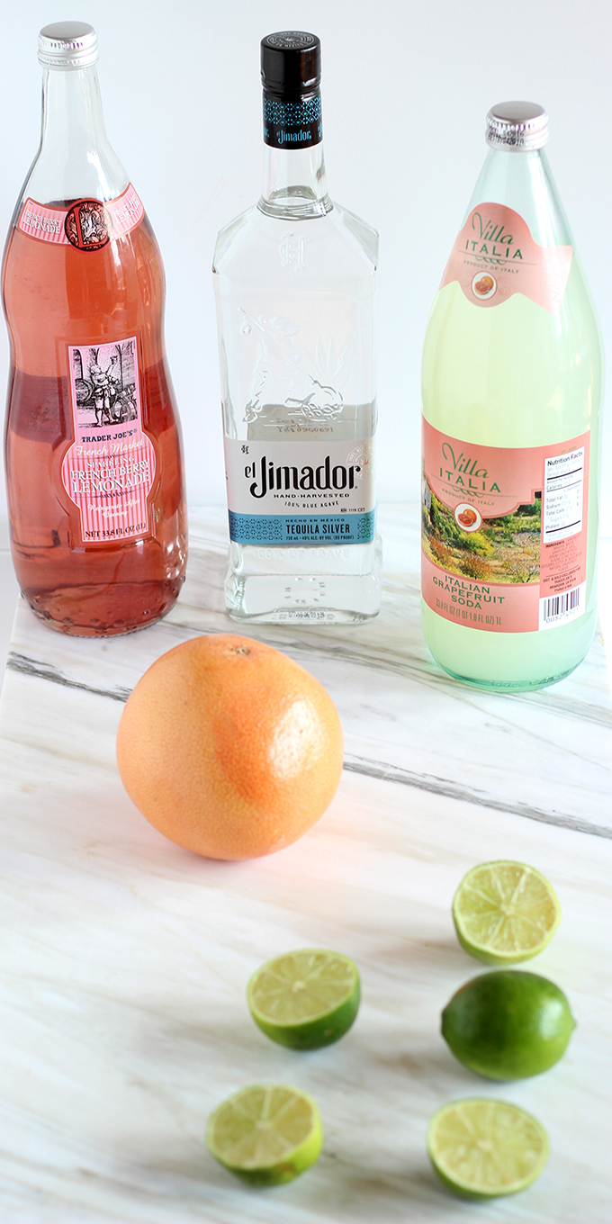Only 4 Ingredients in this Perfect Paloma #cocktail