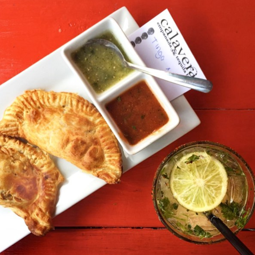 4 Downtown Raleigh Restaurants for Pre-Concert Dinner | Calavera Empanada Bar in Downtown Raleigh - Photo by Offline Media