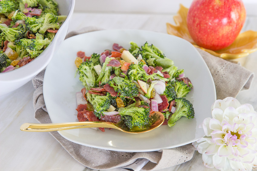 broccoli harvest salad recipe from cheers years