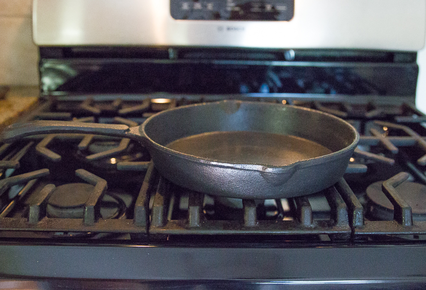 How to care for  a new cast-iron skillet after seasoning