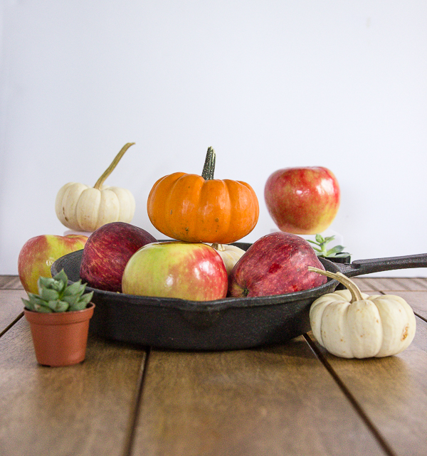 I love cooking in a cast-iron skillet! Article on how to season and care for a cast-iron at CheersYears.com!