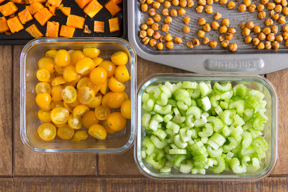 Celery and Tomatoes Meal Prep Ingredients will make Amazing Lunches All Week #mealprep #healthylunch