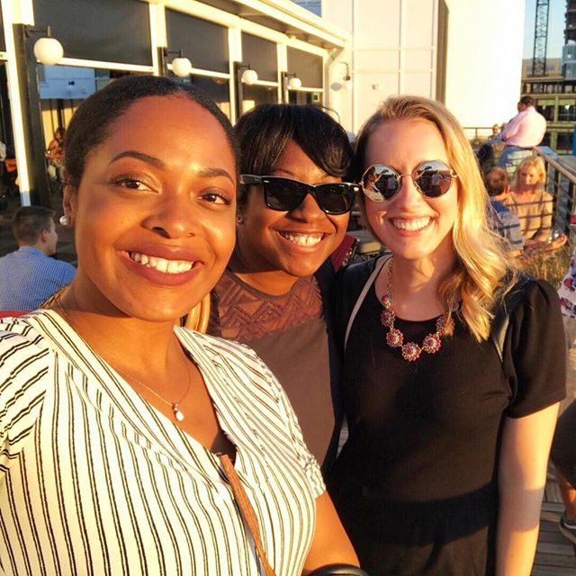 #FlashbackFriday Real Talk Moment 🚨 One year ago to the date, I huddled with these 2 incredible women on a gorgeous rooftop in downtown Durham, NC. We dreamed, schemed, and toasted to a future event to help provide networking and education growth for the new talent of food bloggers and influencers who work hard to create the beautiful content we all admire around here. 🍽📸 • Every day a new blog, new Instagram, or YouTube channel about food is born with aspirations to make their unique mark and/or business. If you're anything like me, I've been craving a specific in-depth event local to the Southeast to help those just starting out or needing the education to take their brand to the next level. I wanted to attend a live event that would provide the real-life tactical talk and tools with others going through the same learning process. After many lunch & coffee dates, emails, and phone calls, these beautiful superwomen supported me to make this happen all the way to present day. I just have to shout out @dreamyjay4 and @najaunabrenae among all the other strong women that have lifted up my vision, even when my fear of failing wouldn't let me see it at times. 🙏 • I love you ladies and am SO excited to make this event come to life with you. It literally gives me chills that our first-ever @culinaryclicks event will be hosted at this very same spot where we first met about this *crazy* idea a year ago. 💫 • I hope you saved your spot with us and get to enjoy this sunset and unforgettable event next month. The registration link is in my bio if you need to grab yours! 💃🏼 #womensupportingwomen —— ⠀⠀⠀⠀⠀⠀⠀⠀⠀ #bossbabes #durhamnc #foodbloggers #instafood #instablogger #ncfoodblogger #durhamfoodie #durhamfood #foodbloggerpro #foodblogtips #bloggerevent #foodblogevent #foodlife #foodiegram #popup #popupevent  #eventbrite #networking #bloggerstyle #views #collaborate #connect #event #thatsdarling #gathering #views #pursuepretty  #flashesofdelight
