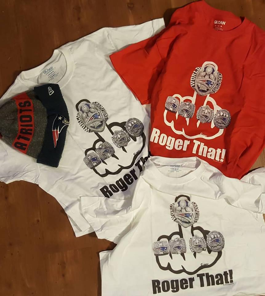 PATRIOTS - Woooooo, Ready for some football!!!!!🤣🤣🤣🤣🤣🤘🤘🇺🇸🏈🏈🏈🏈🤘ROGER THAT BABY!!!! Woooooooooo yes..🏈we have some T-shirts left starting @ $20.00www.unknownprost-shirts.com#rogerthat2017#rogerthat#patroits#digitalkaosbostonGame done wooooo🏈yea, yea.... #rogerthat #rogerthat2017#Patriotsallday#digitalkaosboston #cityofchampions#boston#patriotsthank you 💯🏈#rogerthat #rogerthat2017 #rogerthatboston#DynastyBoston#cityofchampions💯@unknownprospect.com#unknownprospectboston#unknownpros#patriots#tombrad#masshole#5ringcity#5rings#patsnation#patsfootball#newenglandPatriots#boston#bostonbest#Bostonians#Bostonian