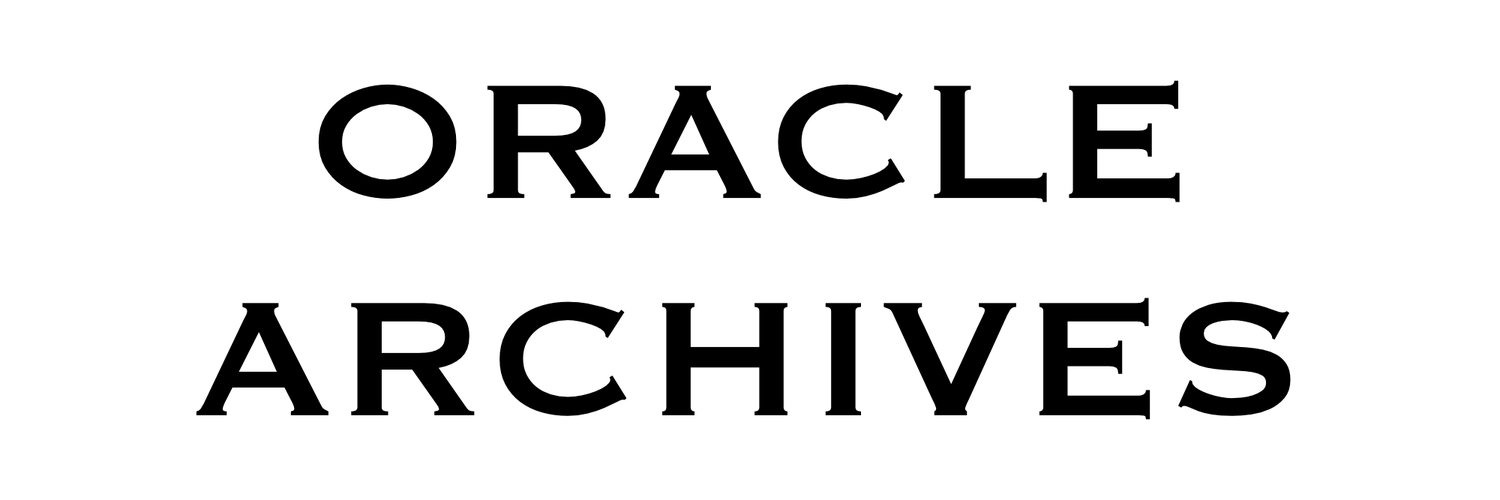 ORACLE ARCHIVES