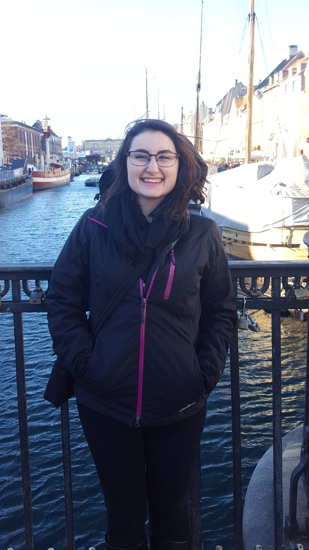 This was me in March 2017, in Nyhavn, Copenhagen, Denmark. I was extremely sleep-deprived, but definitely enjoying the city!