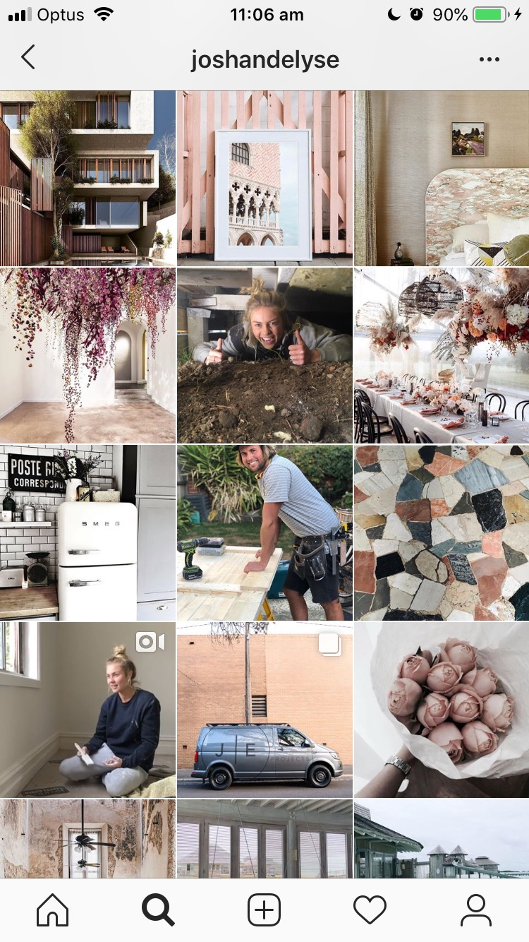 """Home inspo for days by Ch 9's """"The Block"""" winners  @joshandelyse"""