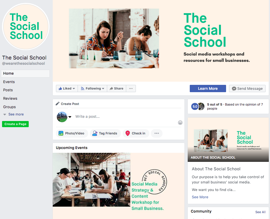 Give  The Social School Facebook page  a 'Like' 👍 to see what we get up to each week.