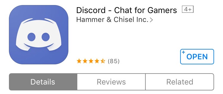 Step One | Download the Discord app.